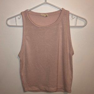 Tops - Aritzia (Wilfred Free) Baby Pink Tank Top